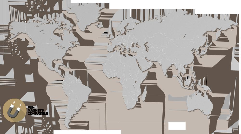 MapaWall | Luxury world maps
