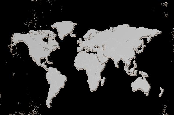 MapaWall-Steel-world-map