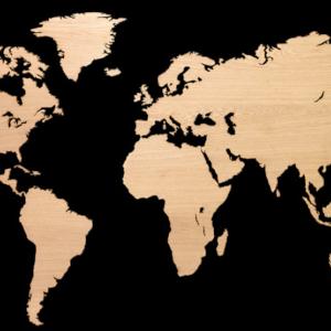 MapaWall European Oak Rift