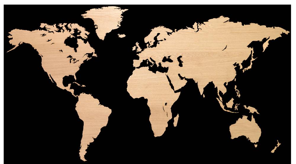 MapaWall   Luxury world maps