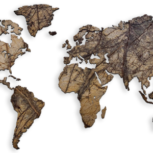 MapaWall-StoneCut-world-map-Hawksbill-Brown