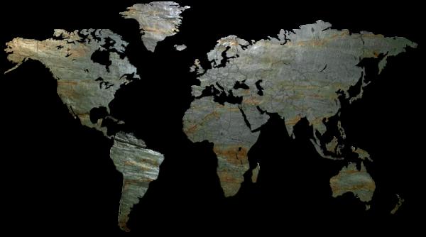 MapaWall-StoneCut-world-map-Rusty-Lady